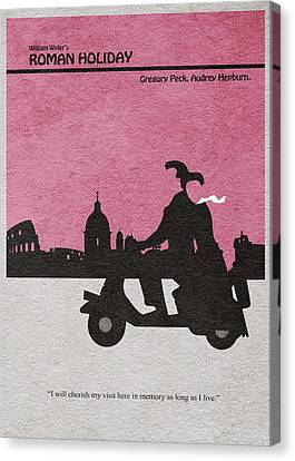 Roman Holiday Canvas Print by Ayse Deniz