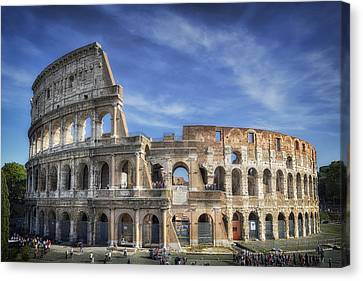 Roman Icon Canvas Print by Joan Carroll