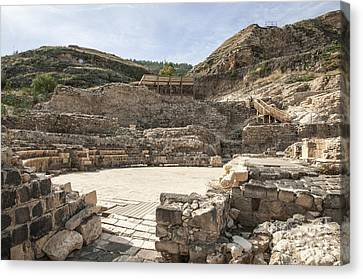 Roman Ruins Canvas Print by Photostock-israel