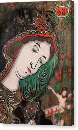 Romania, Transylvania, Sibiel, Glass Canvas Print by Walter Bibikow