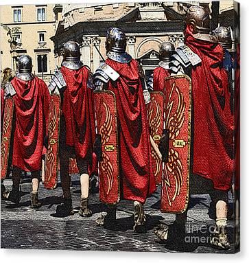 Romans Canvas Print by Stefano Senise