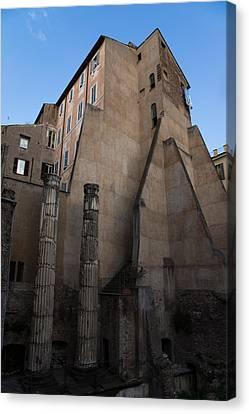 Rome - Centuries Of History And Architecture  Canvas Print by Georgia Mizuleva