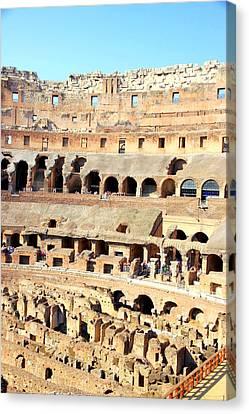 Rome Colosseum Canvas Print by Valentino Visentini