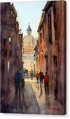 Rome Canvas Print by Ryan Radke