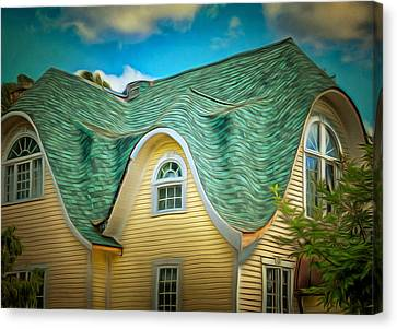 Roof - For Some Reason Canvas Print by MJ Olsen