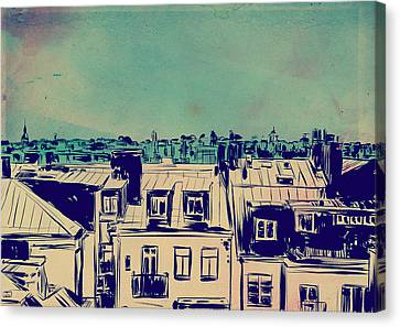 Roofs Canvas Print by Giuseppe Cristiano