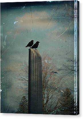 Room For Two Canvas Print by Gothicolors Donna Snyder