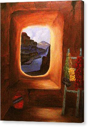 Room With A View Canvas Print by Janis  Tafoya