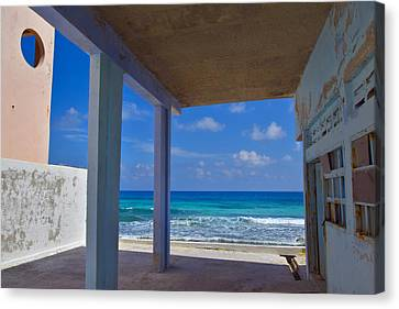 Room With A View Canvas Print by Skip Hunt