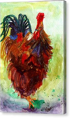Roosta  Canvas Print by Anderson R Moore