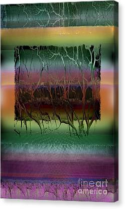 Roots Canvas Print by Ursula Freer