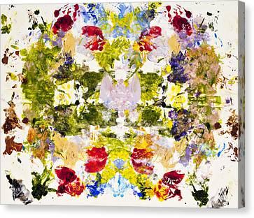 Rorschach Test Canvas Print by Darice Machel McGuire
