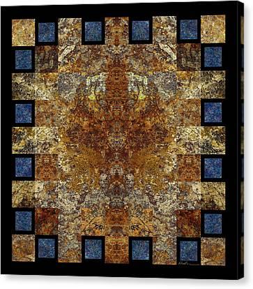 Rorshach Yantra Nine Oh Four Canvas Print by Bruce Ricker