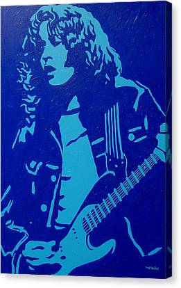 Rory Gallagher Canvas Print by John  Nolan