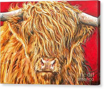 Rory Canvas Print by Leigh Banks