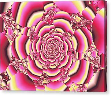 Rose Canvas Print by Anastasiya Malakhova