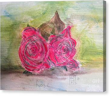 Rose Canvas Print by Blg H