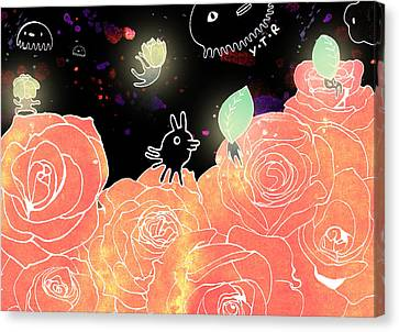 Rose Garden  Canvas Print by Yoyo Zhao