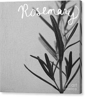 Rosemary Canvas Print by Linda Woods