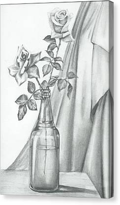 Roses Canvas Print by Gayatri Ketharaman