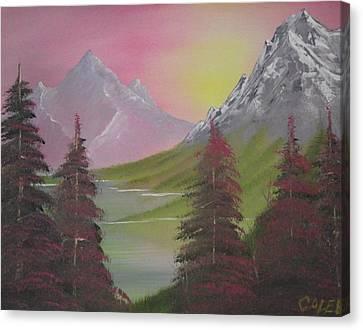 Rosie Pine Canvas Print by Caleb Mitchell