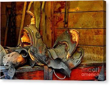 Rough Ride Canvas Print by Lauren Leigh Hunter Fine Art Photography