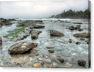 Rough Waters Canvas Print by James Wheeler