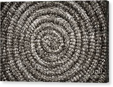 Round And Round Canvas Print by John Farnan