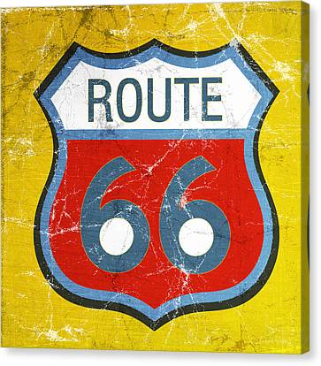 Route 66 Canvas Print by Linda Woods