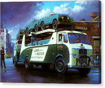 Rovers For Export. Canvas Print by Mike  Jeffries