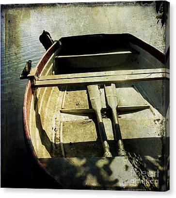 Rowboat Canvas Print by Bernard Jaubert