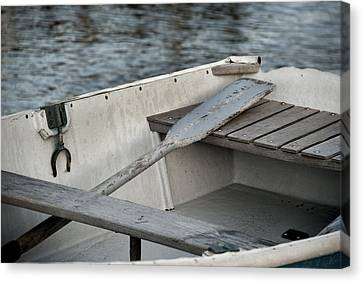 Rowboat Canvas Print by Charles Harden