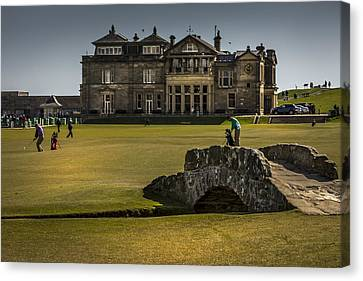 Wall Pictures Royal And Ancient Golf Club Canvas Print by Alex Saunders