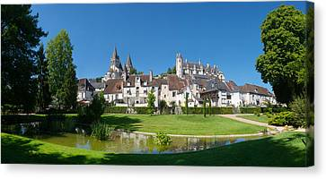 Royal Apartments And Collegiate Church Canvas Print by Panoramic Images