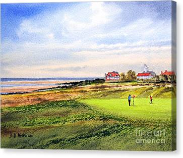 Royal Liverpool Golf Course Hoylake Canvas Print by Bill Holkham