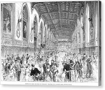 Royal Wedding, 1879 Canvas Print by Granger