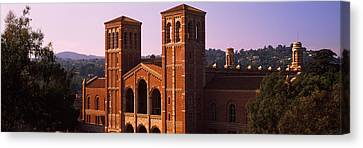 Royce Hall At The Campus Of University Canvas Print by Panoramic Images
