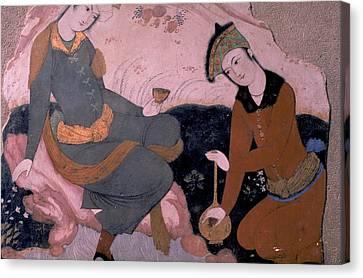 Rubaiyat 0f Omar Khayyam Canvas Print by Carl Purcell