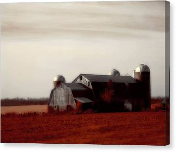 Ruby Landscape Canvas Print by Gothicrow Images