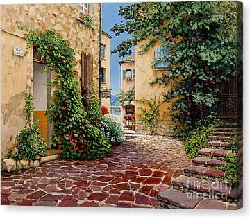 Rue Anette Canvas Print by Michael Swanson