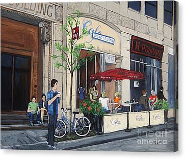 Rue Peel Canvas Print by Reb Frost
