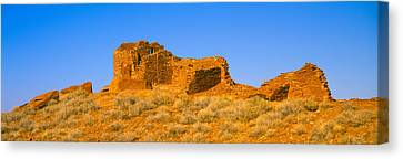 Ruins Of 900 Year Old Hopi Village Canvas Print by Panoramic Images