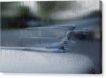Running In The Rain Canvas Print by Jack Zulli