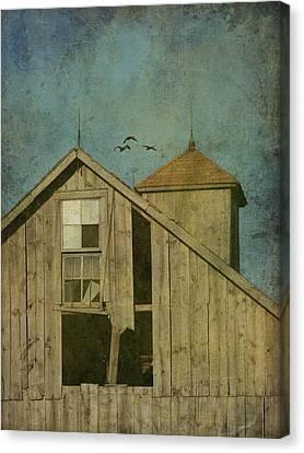Rural Iowa Barn 5 Canvas Print by Cassie Peters
