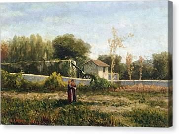Rural Landscape Canvas Print by Ernesto Rayper