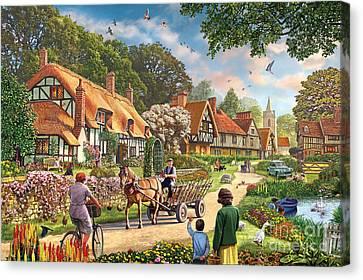 Rural Life Canvas Print by Steve Crisp