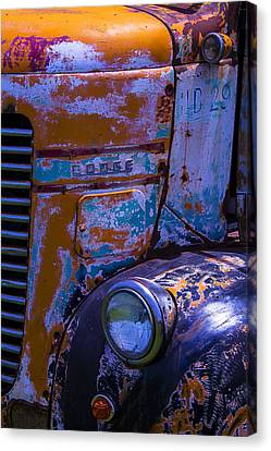 Rusrty Old Dodge Truck Canvas Print by Garry Gay