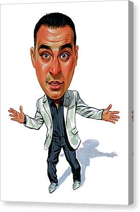 Russell Peters Canvas Print by Art