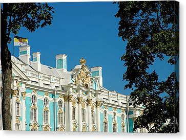 Russia, Pushkin Portion Of Catherine Canvas Print by Jaynes Gallery
