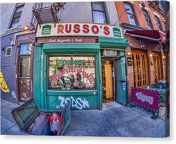 Russo's Canvas Print by June Marie Sobrito